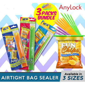 AnyLock 3 in 1 Pack - Medium, Mixed & Large