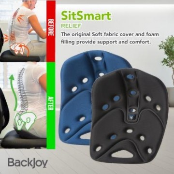 BackJoy SitSmart Posture Plus Relief (Black & Navy) Now $48.90 UP $69.90