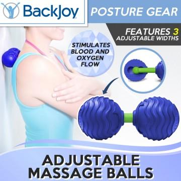 BackJoy Adjustable Massage Balls