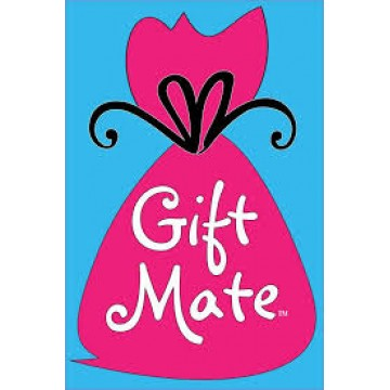 Gift Mate Party Bag with Glitter Strings (Small , 10 in a pack)