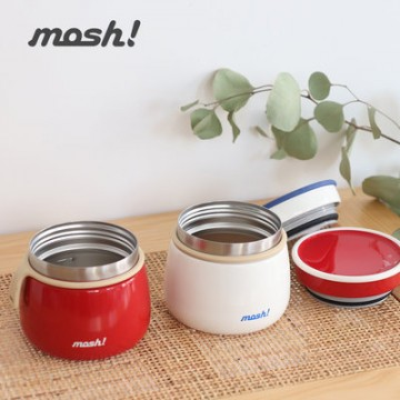 Mosh Latte Stainless Steel Food Pot (350ml) - Available in 3 colours