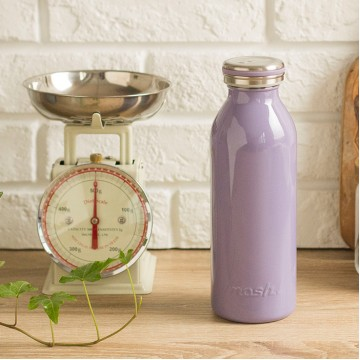 Mosh! Stainless Steel Double-walled Light Weight Bottle (450ml) - Available in 6 colors