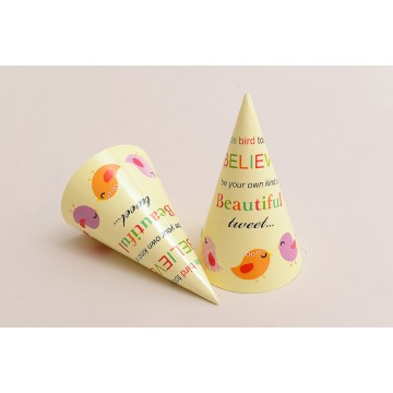 Party Fete Party Hat (6s in a Pack) - Available in 4 prints