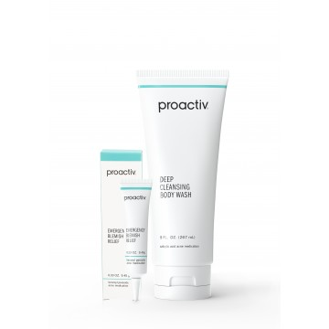 Proactiv Face & Body Blemish Treatment Duo : NOW $59.90 (UP $86.80) Save $26.90