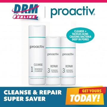 Proactiv Cleanse & Repair Bonus Saver Kit ( 1 Cleanser + 2 Repair Lotion)