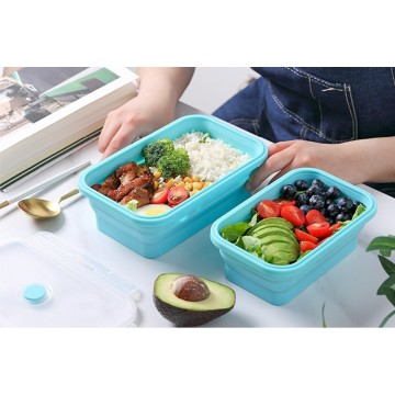 Travel Joy Silicone Foldable Lunch Box - Buy 1200ml Get 800ml (worth $15.90) FREE!