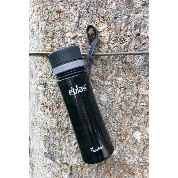 Eplas BPA-Free Clear Water Bottle (500ml) - Available in 2 colours