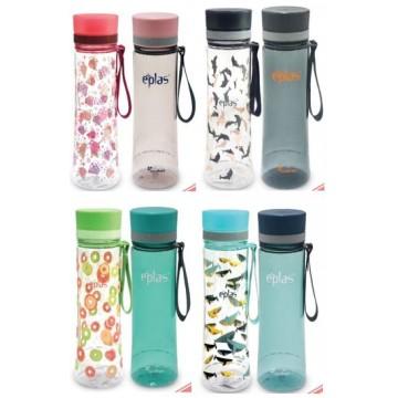 EPLAS 2- In -1 600ML ( EGH 600+EGHT600) BPA-FREE WATER BOTTLE (4 SETS) NOW $19.50 UP $27.80