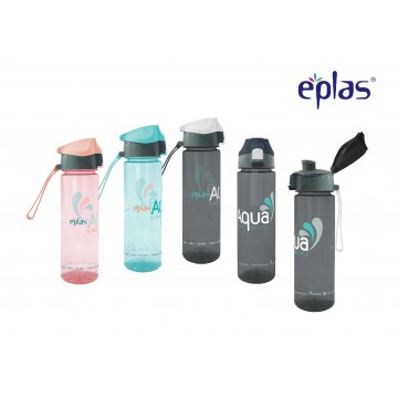 Eplas Flip up Top BPA-Free Water Bottle with Locking system  (750ml) - Available in 5 colours