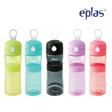 Eplas BPA-Free Flip-Up Top Sport Bottle (550ml) - Available in 5 colours  (TOP SELLER)