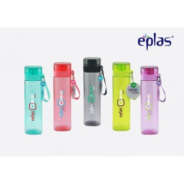 Eplas BPA-Free Square Bottles (700ml) - Available in 4 colours