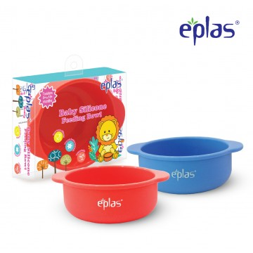 Eplas Baby Silicone Feeding Bowl - Available in 2 colours
