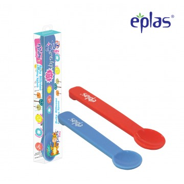 Eplas Baby Silicone Feeding Spoon - Available in 2 colours