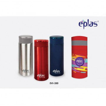 Eplas Double walled Stainless Steel Bottle (350ml) - Available in 3 colours