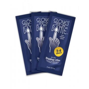Gloves in a Bottle Shielding Lotion Travel Sachet - 5ML X 3s  @ $5 per pack