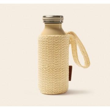 Mosh Milk Bottle Cover / Rattan Bottle Carrier/Handle   (For 450ml Mosh Milk Bottle)