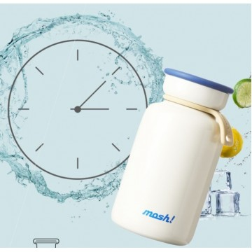 Mosh Latte Milk Bottle (200ml) - Available in 3 colours