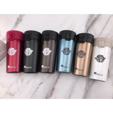 TRAVEL JOY ECO THERMAL MUG (380ML) - AVAILABLE IN 6 COLOURS (HONG BAO SPECIAL) NOW $15.90 (UP $25.90) SAVE $10